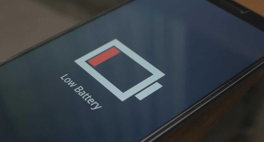 bateria do celular fraca